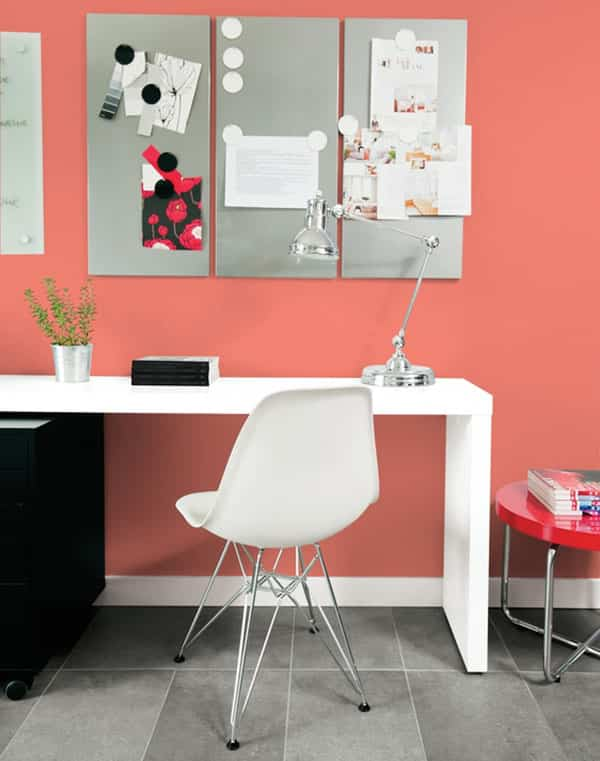 Cómo aplicar en tu casa el Living Coral, el color del 2019 3