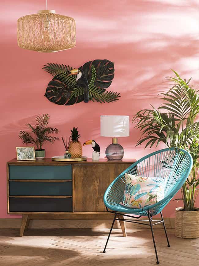 Cómo aplicar en tu casa el Living Coral, el color del 2019 1