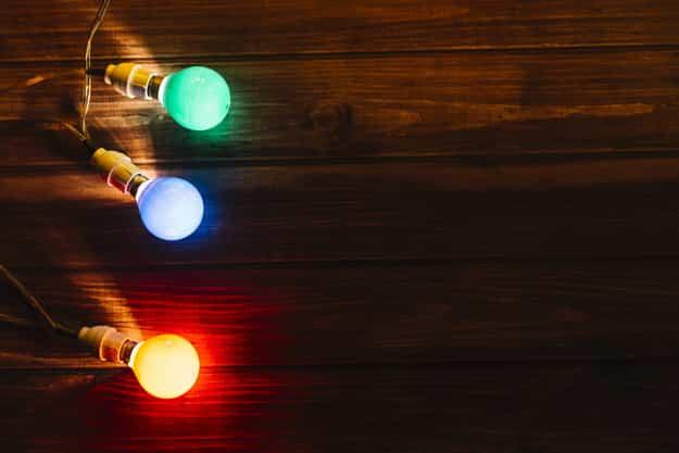 Cómo construir una guirnalda de luces en casa 6
