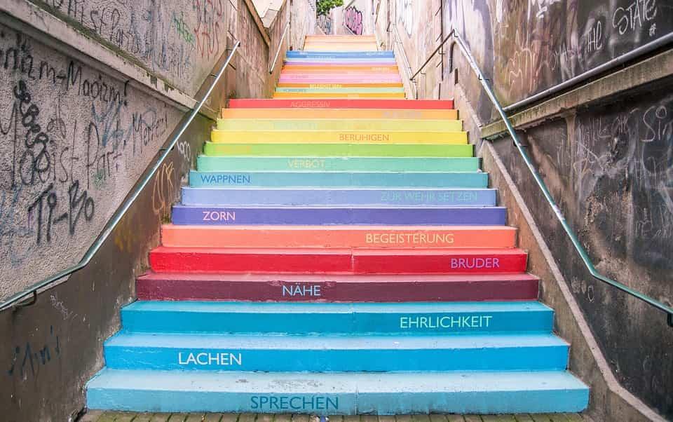 Cómo decorar las escaleras 2