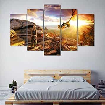 Cómo decorar una habitación al estilo Juego de Tronos
