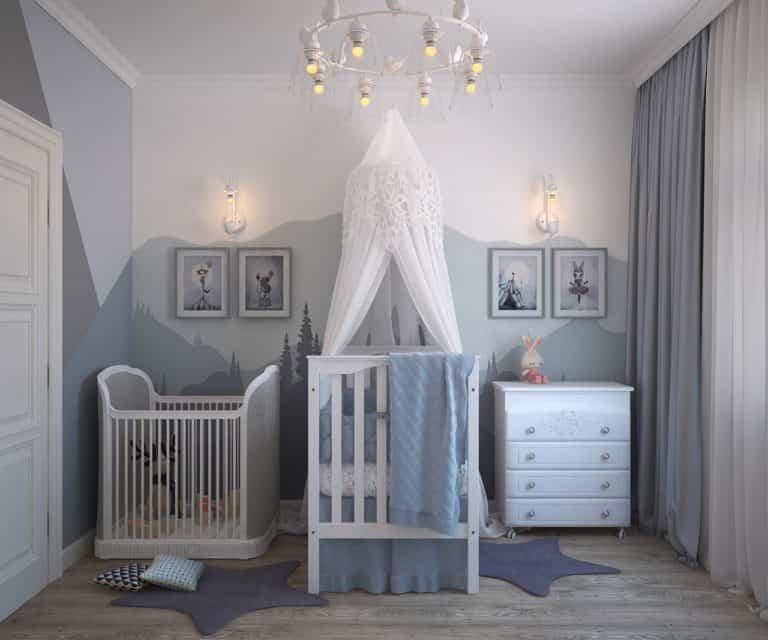 Estas ideas de decoración para la habitación del bebé te enamorarán