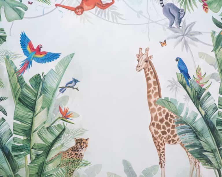 Nuevos murales infantiles de la interiorista Bárbara Chapartegui