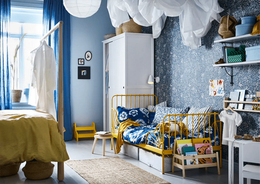 ¿De qué color pinto el cuarto de los niños? Ideas para acertar 1