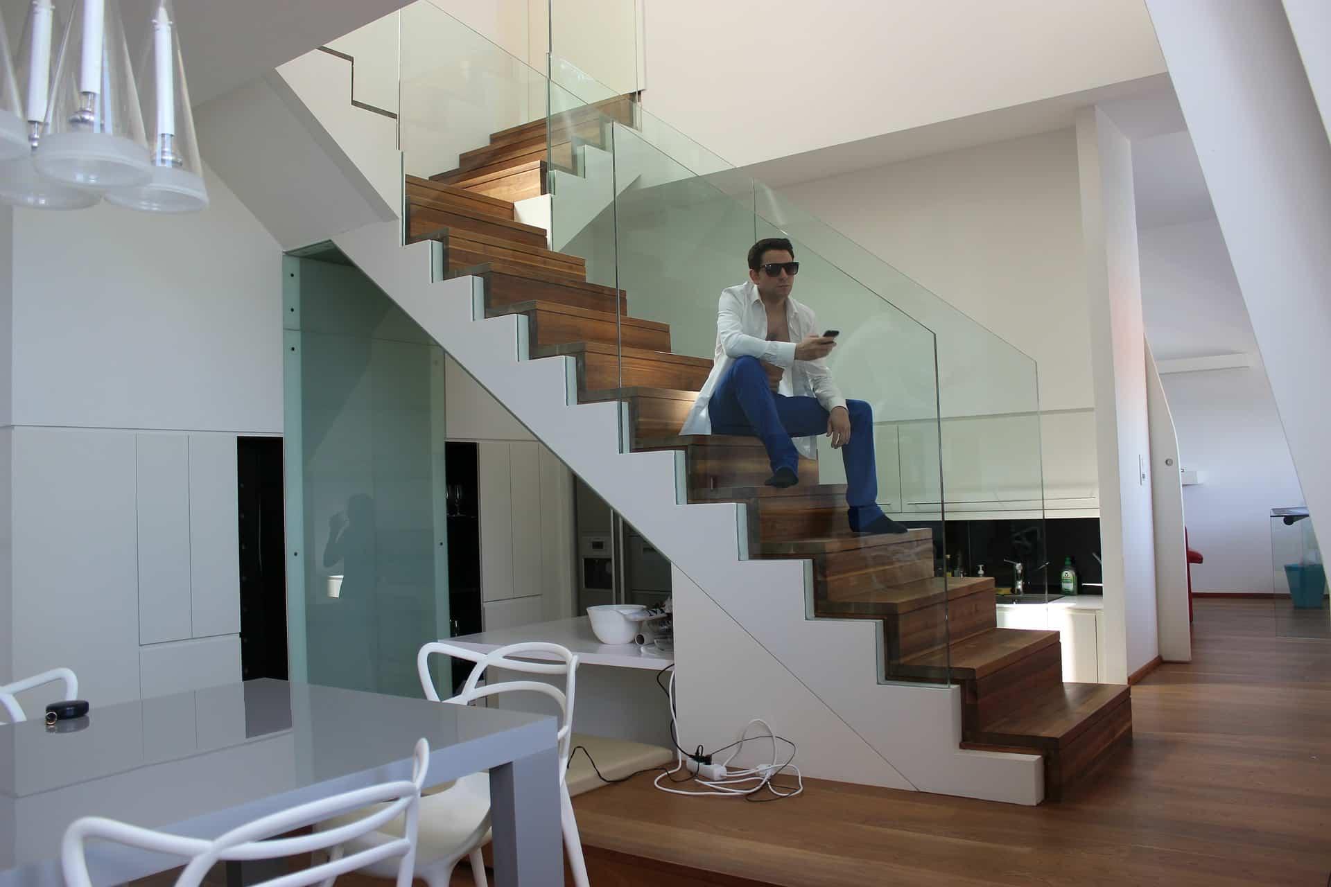 casa de un hombre