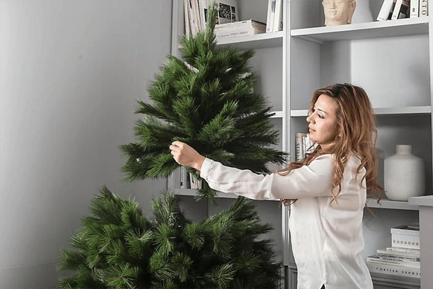 Cómo montar el árbol de Navidad para que quede espectacular 2
