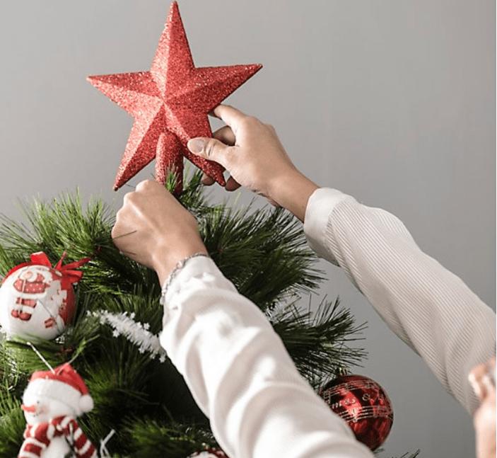 Cómo montar el árbol de Navidad para que quede espectacular 8