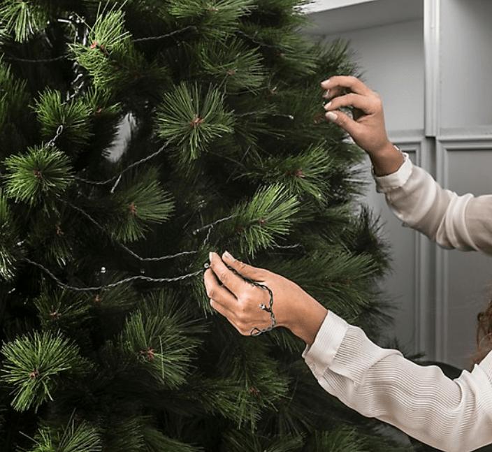 Cómo montar el árbol de Navidad para que quede espectacular 3