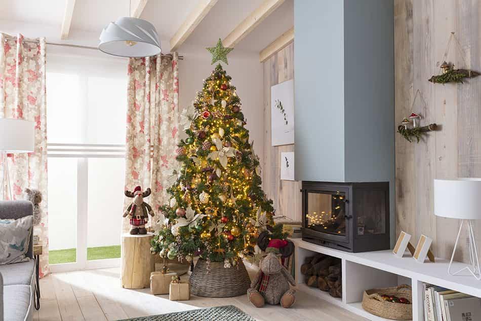 montar el árbol de Navidad
