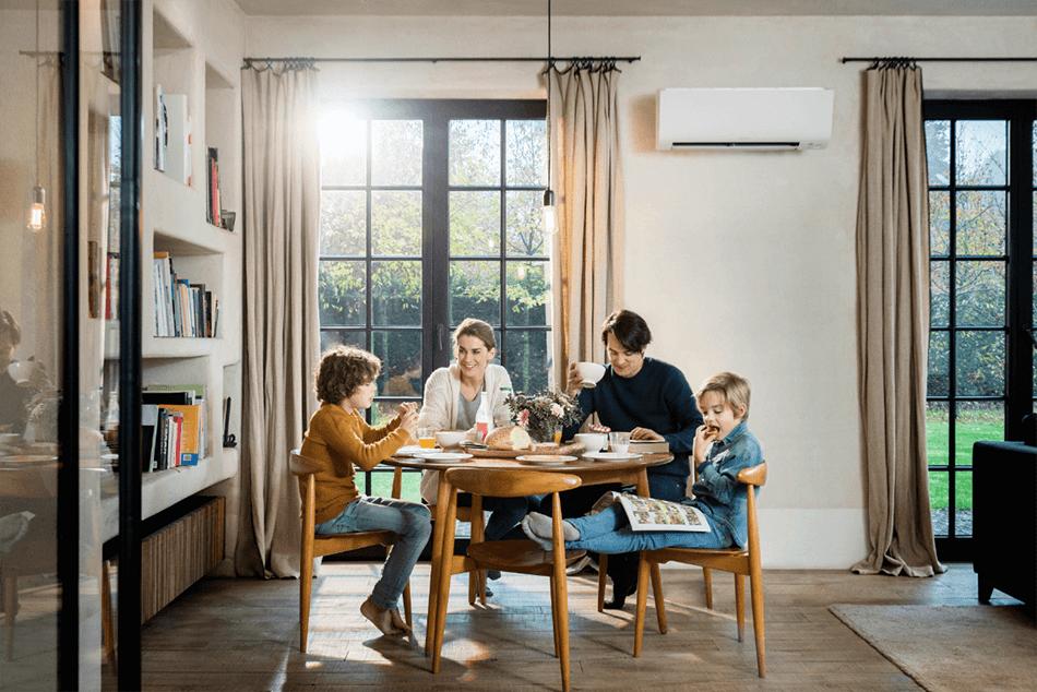 uso sostenible de la calefacción