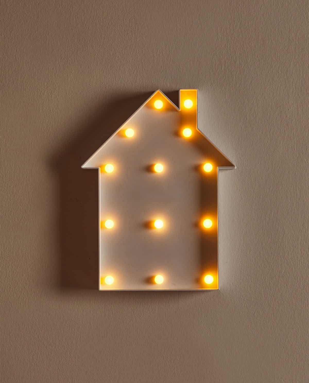 lampara casita
