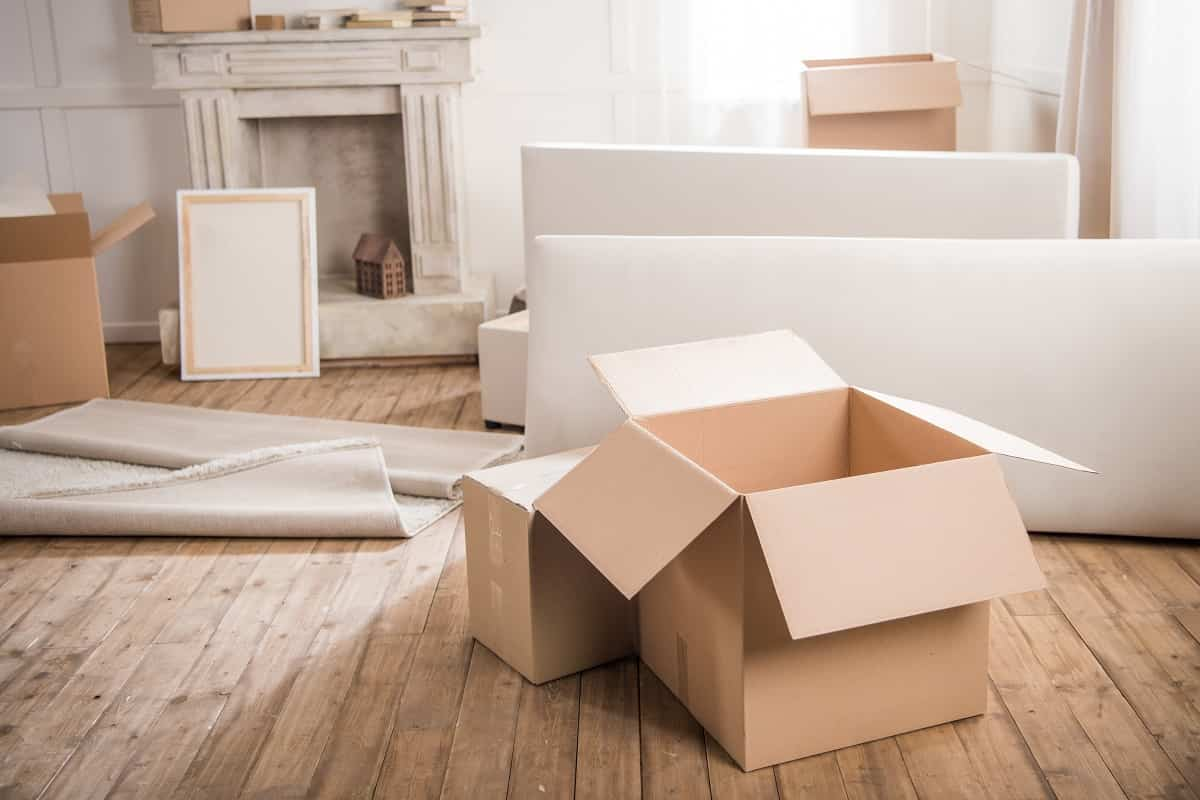 Embalaje y empaquetado para llevar a cabo una mudanza 3