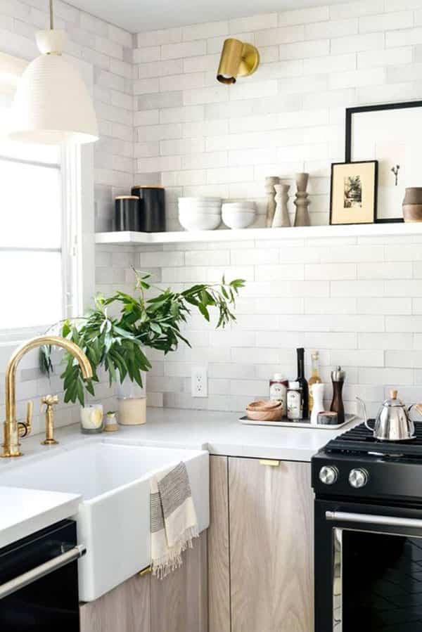 5 formas sencillas que funcionan para darle vida a la cocina 1