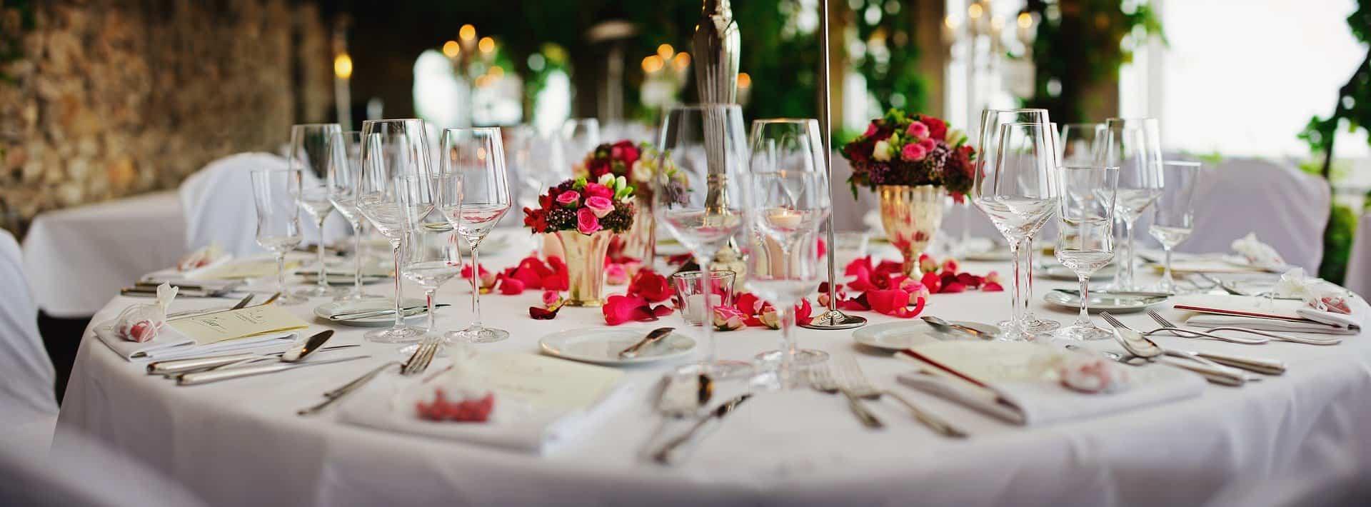 decorar tu mesa para una boda