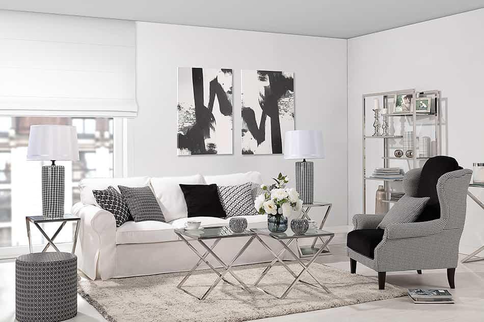 Cómo plantear en tu casa una decoración en blanco y negro 2