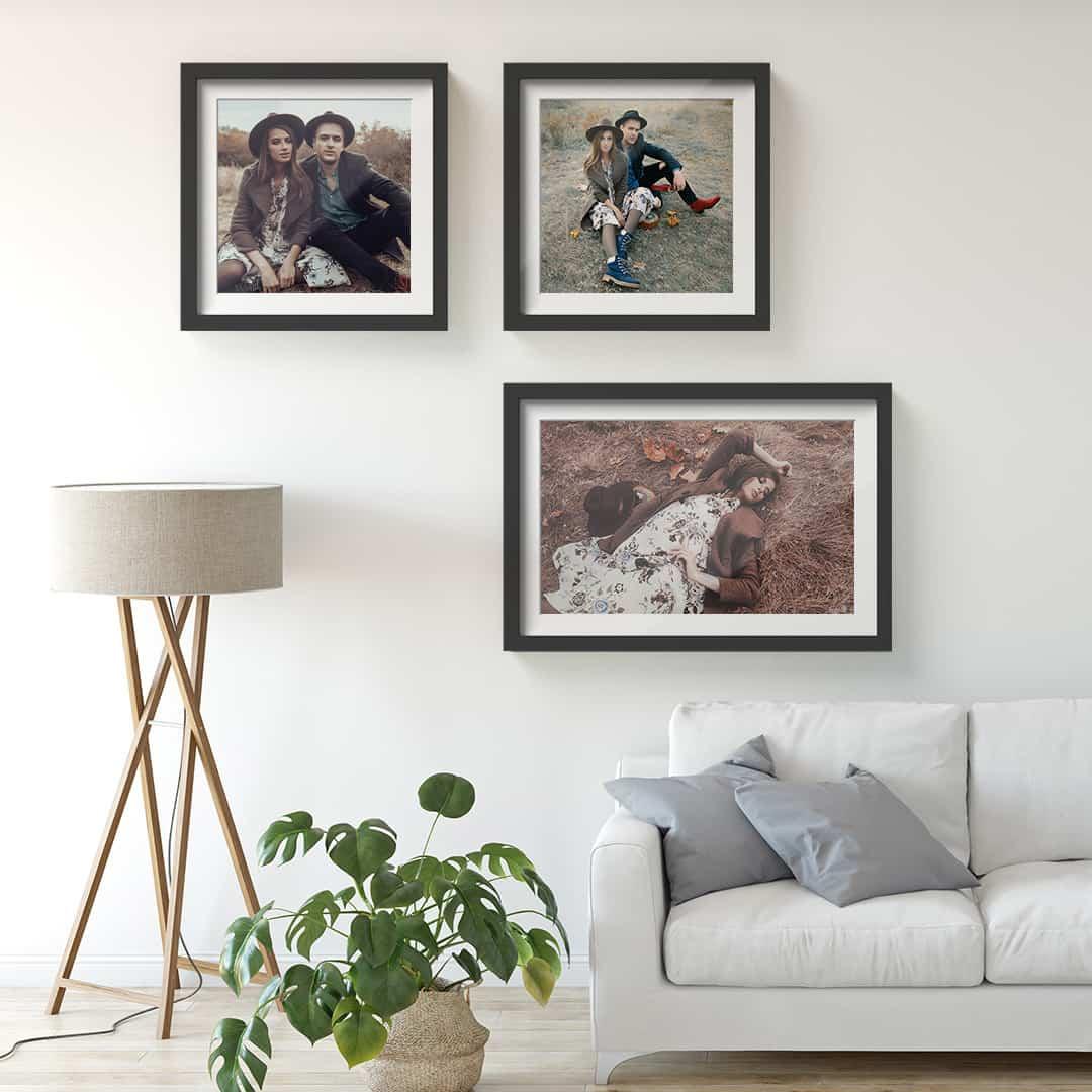Ideas para decorar vuestras paredes con lienzos personalizados 9