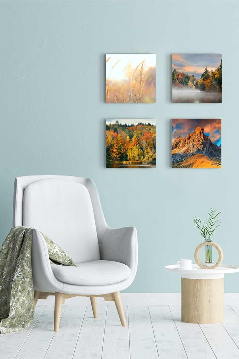 Ideas para decorar vuestras paredes con lienzos personalizados 11