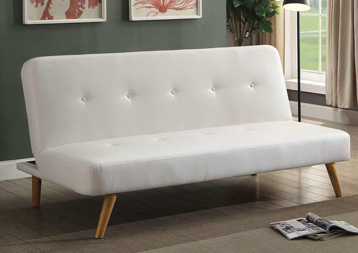 futon blanco