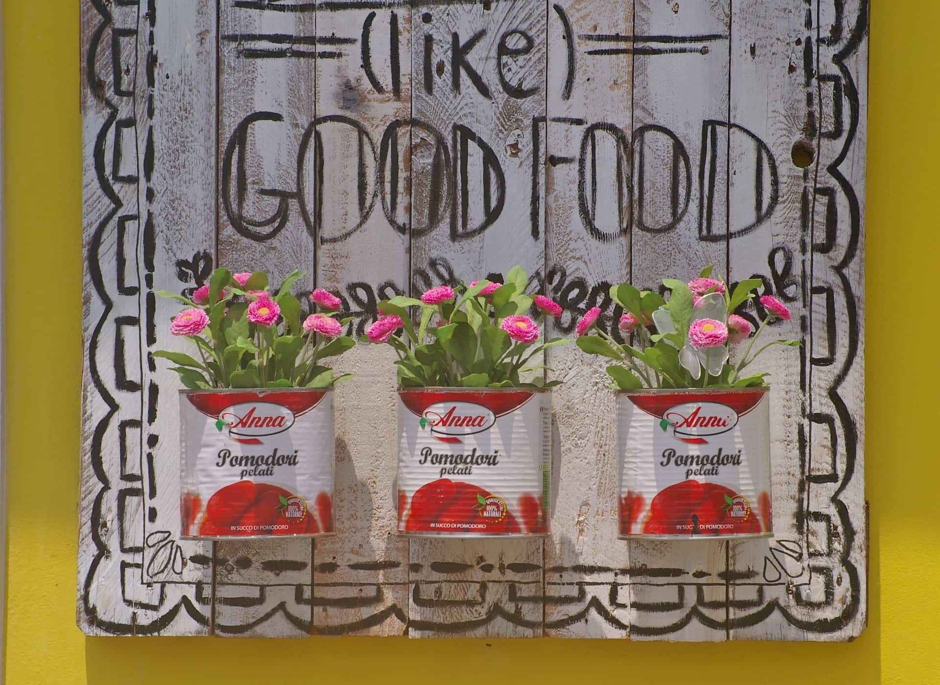 reciclar tarros y latas