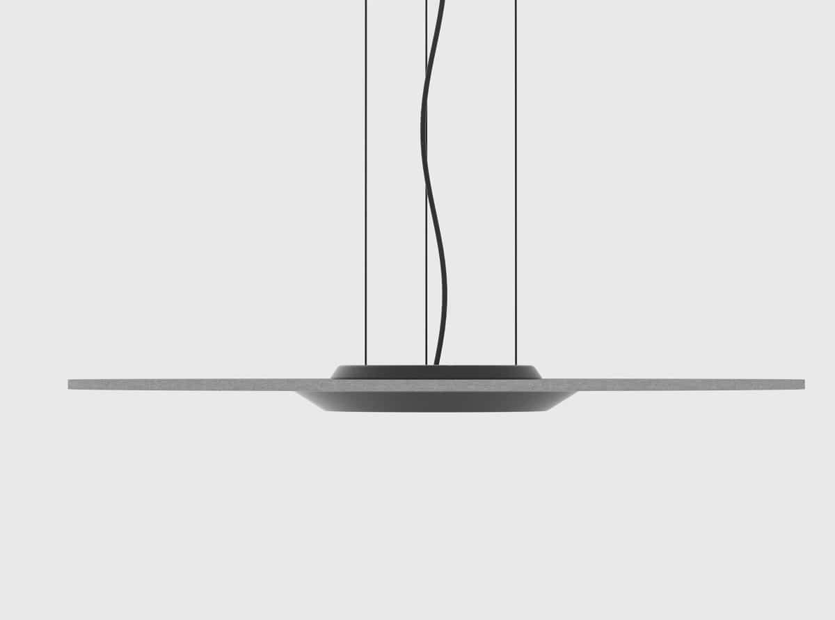 Lamuda una la lámpara fonoabsorbente y sostenible 3
