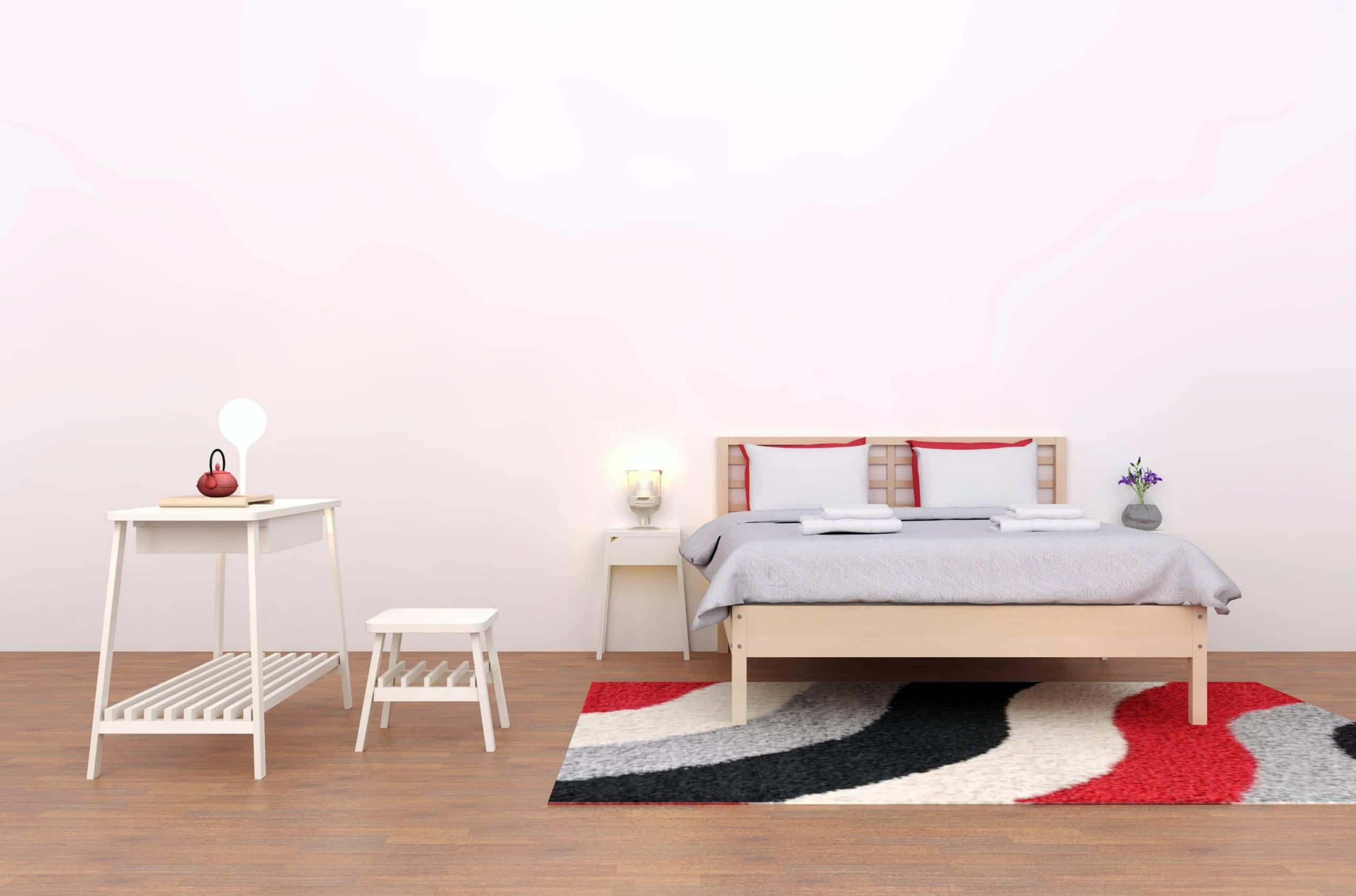 dormitorio estilo feng shui