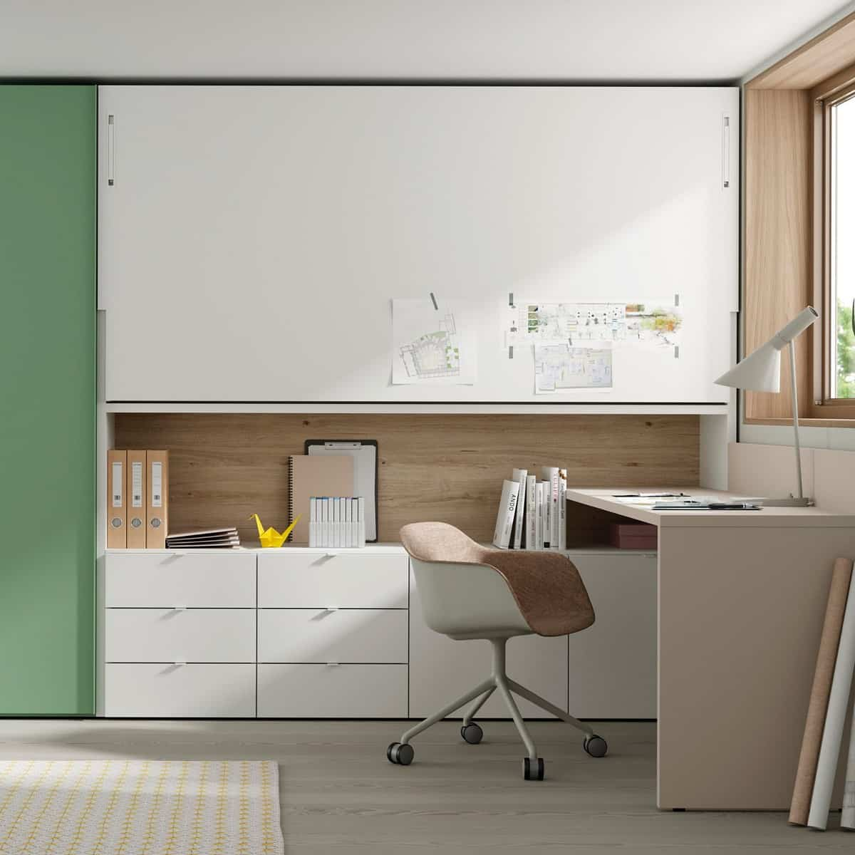 Ideas para crear espacios de estudios en casa 8