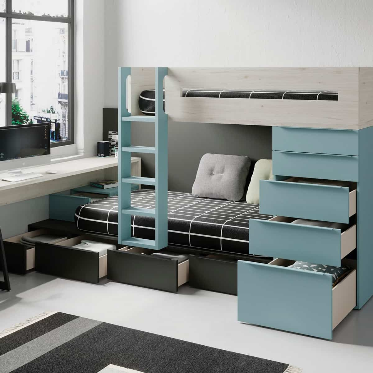 Ideas para crear espacios de estudios en casa 9