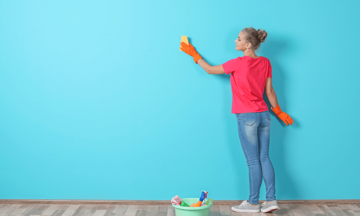 limpiar paredes