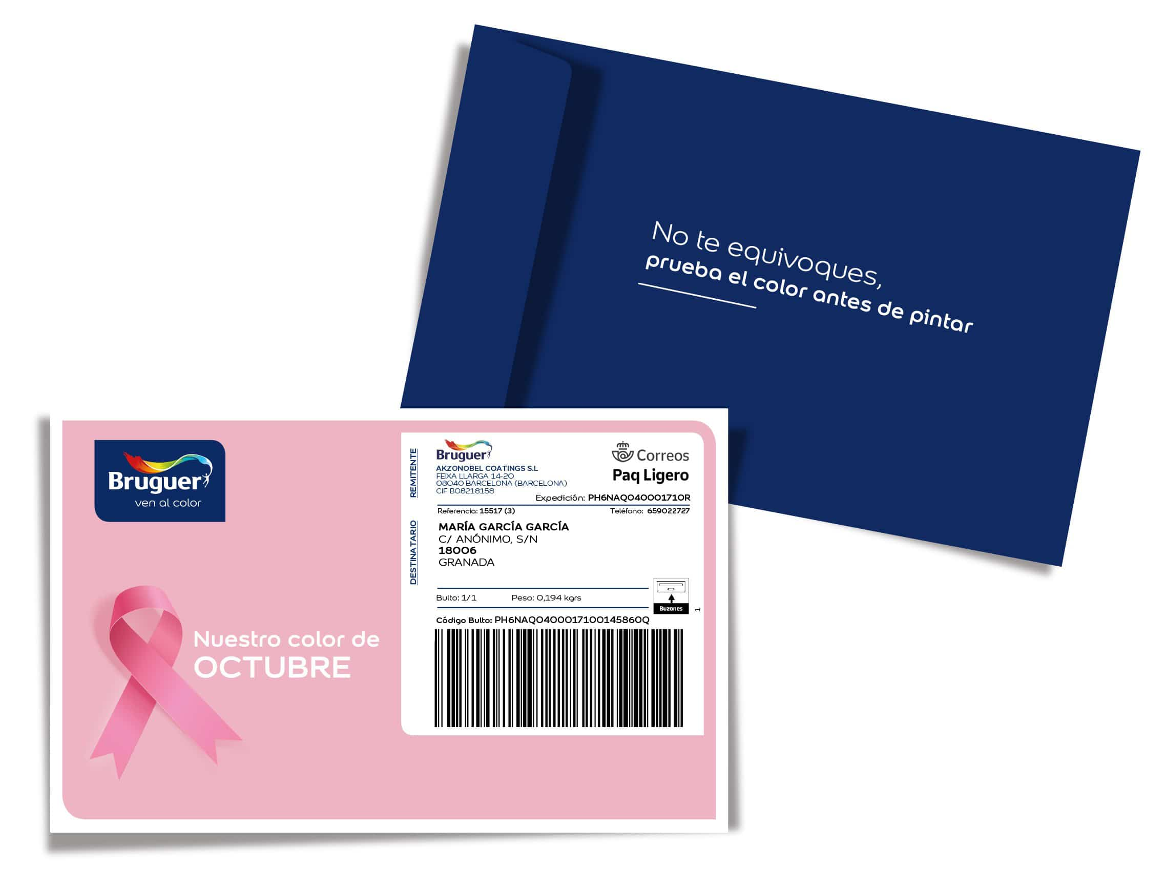 Bruguer se suma al rosa para apoyar la lucha contra el cáncer de mama 3