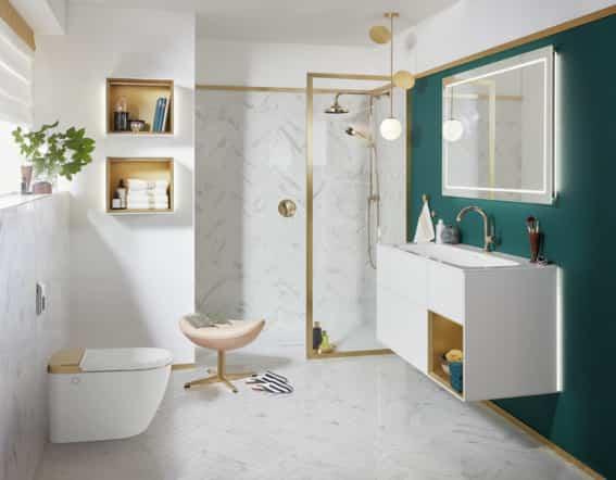 Espejos para hacerte soñar en el cuarto de baño 12
