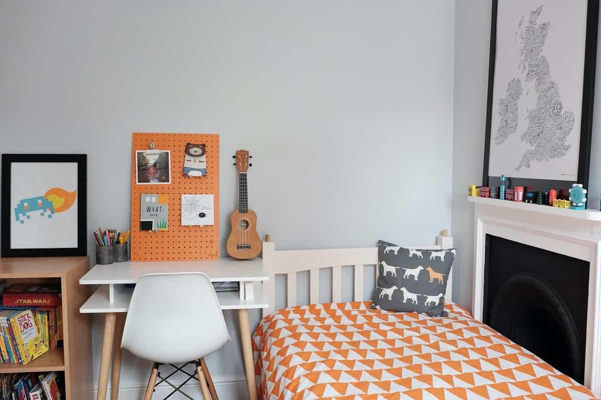 8 ideas de color para un dormitorio naranja 3