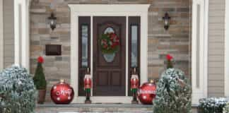 puerta Navidad