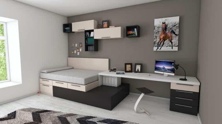 Cómo organizar un dormitorio pequeño sin nada de desorden