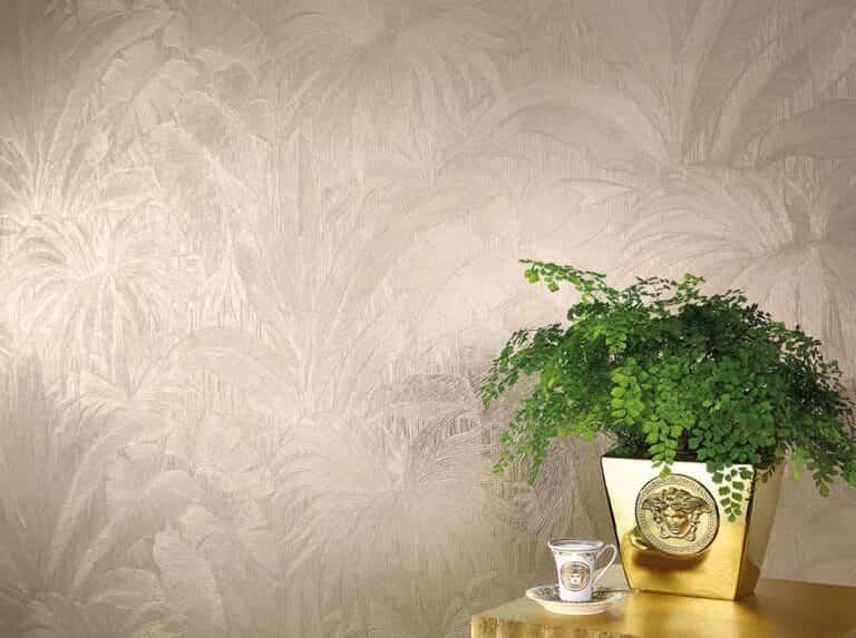 Consejos para decorar el salón con papel pintado liso