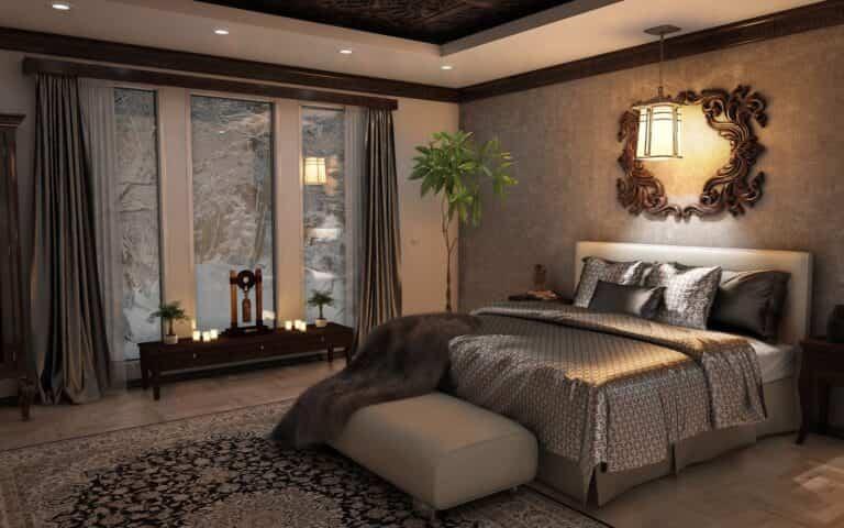 Ideas para decorar los pies de la cama