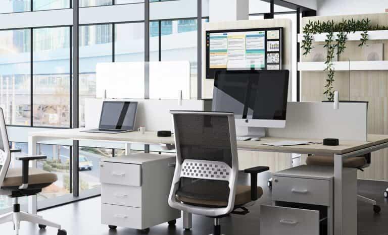 Los españoles prefieren utilizar una forma mixta oficina-casa para trabajar