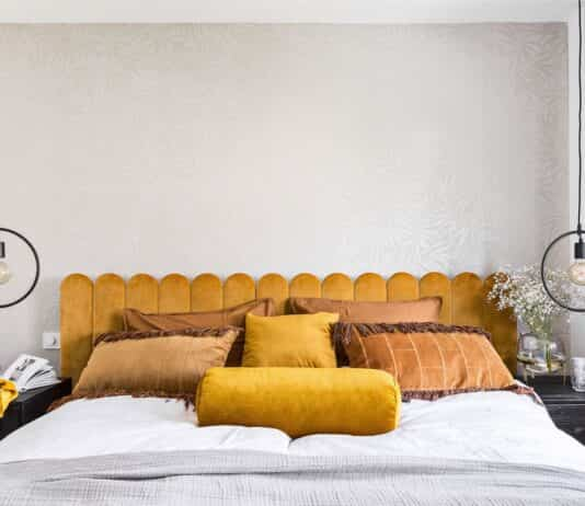 decorar el dormitorio de amarillo
