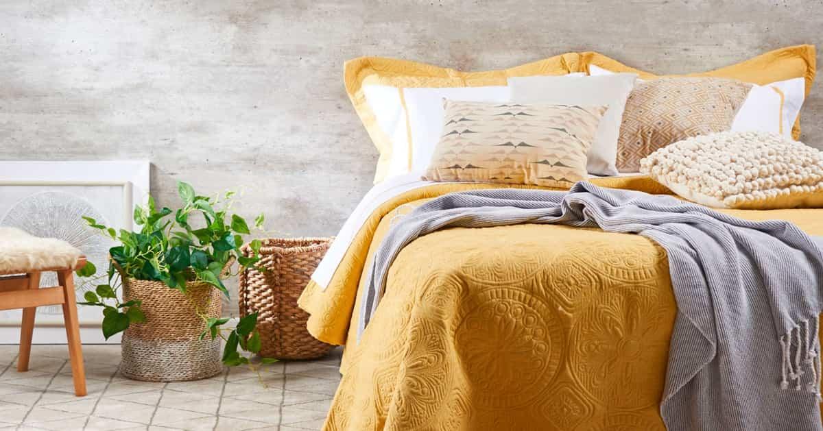 11 ideas para decorar el dormitorio en amarillo