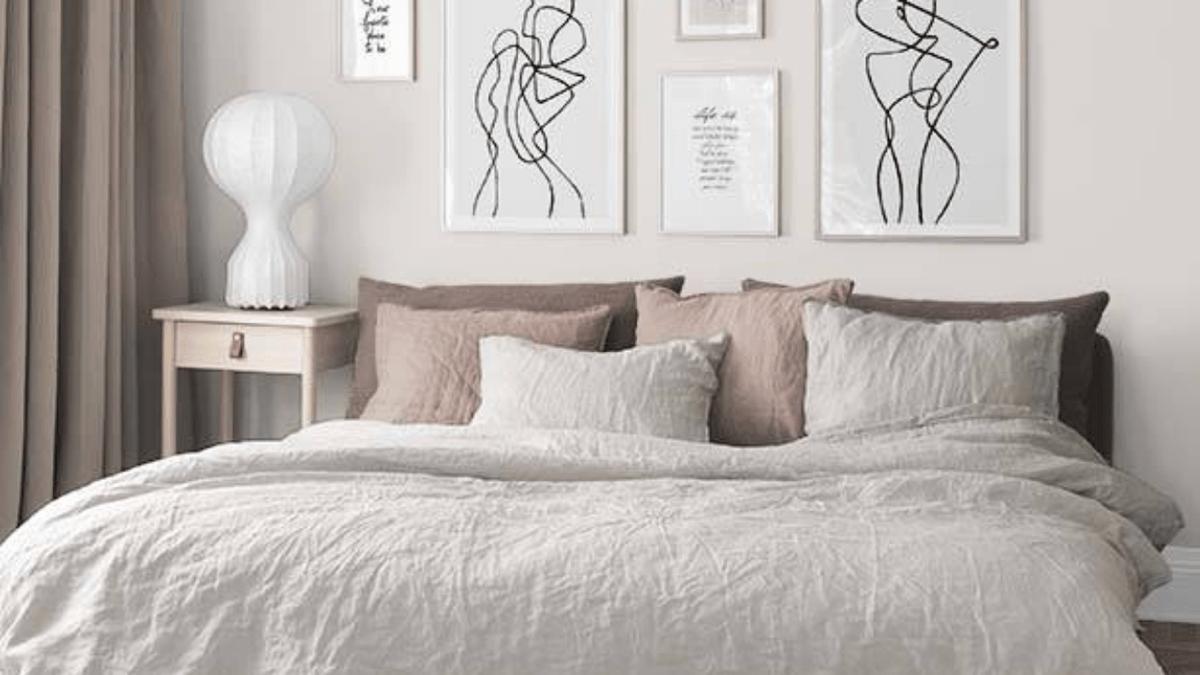 colores triádicos en el dormitorio