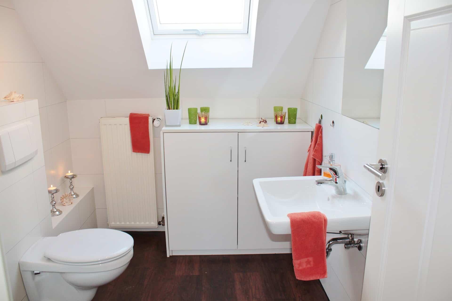 mueble del lavabo