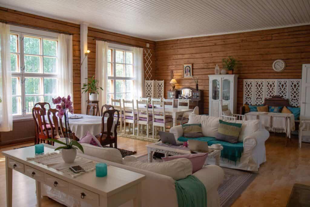 diseño tradicional en el hogar