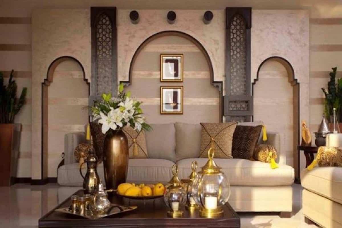 sala de estar estilo marroquí