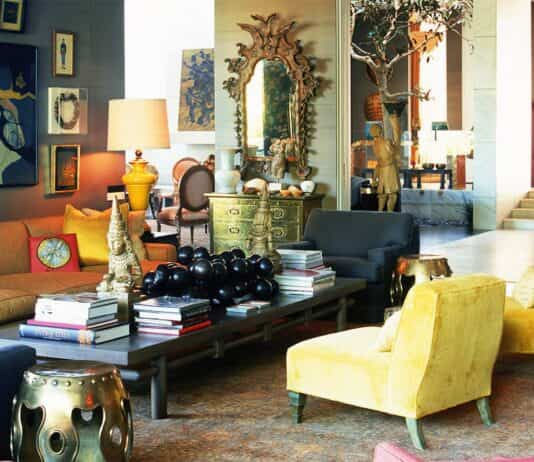 Revista sobre decoración de interiores y mobiliario 1