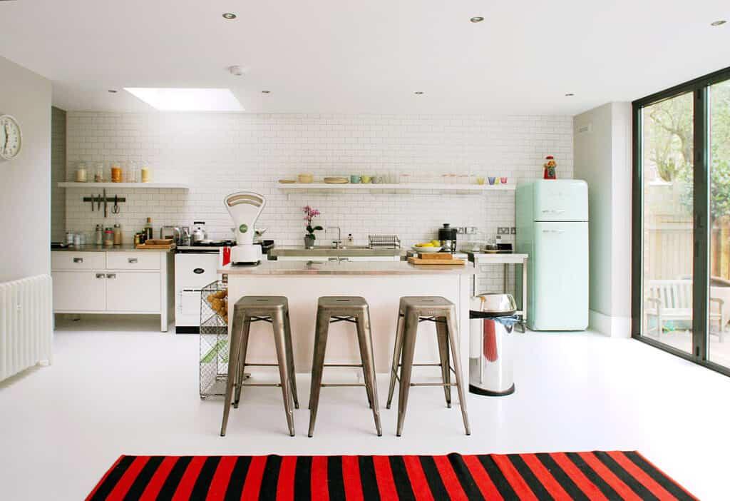 Por qué una nevera retro es una buena opción para tu cocina